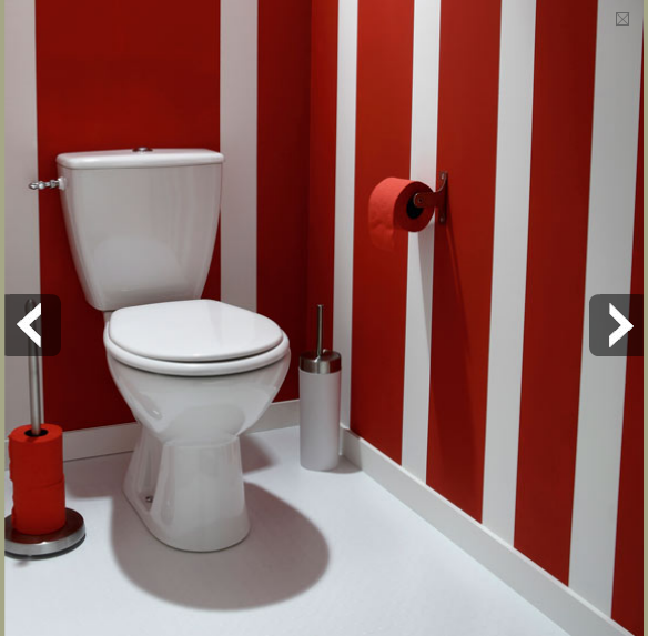D co toilette id e et tendance pour des wc zen ou pop for Decoration faience couloir