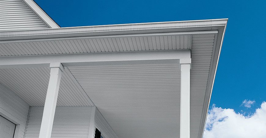 Alside Products Siding Soffit Beaded Vinyl Soffit Greenbriar Vintage Beaded Soffit In 2020 Vinyl Soffit Vinyl Beadboard Beadboard