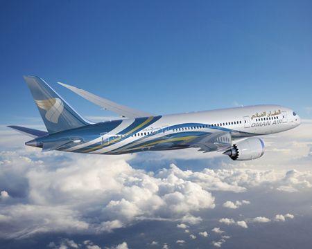 Oman Air 787 Boeing 787 Dreamliner Boeing 787 Boeing