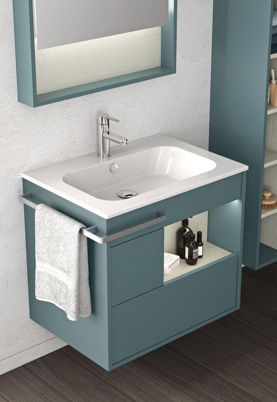 50 Modern Small Bathroom To Inspire, Small Bathroom Furniture