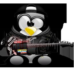Tux Metal Cute Penguins Penguins Penguin Love