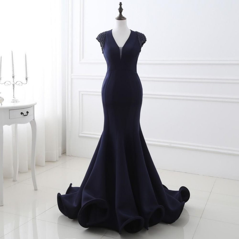 Click to Buy ucuc Sexy Backless Real Picture High Quality Long Prom