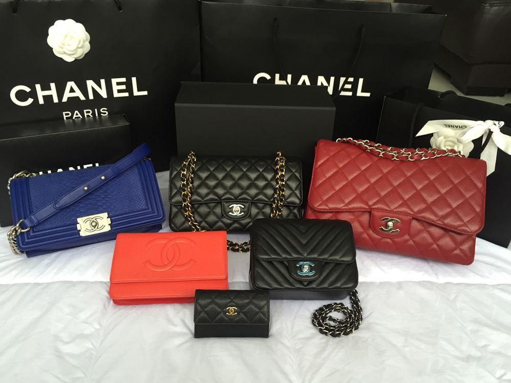 1584d8167 One Big Happy Family: Check Out Our PurseForum Members' Epic Chanel Family  Bag Portraits - PurseBlog