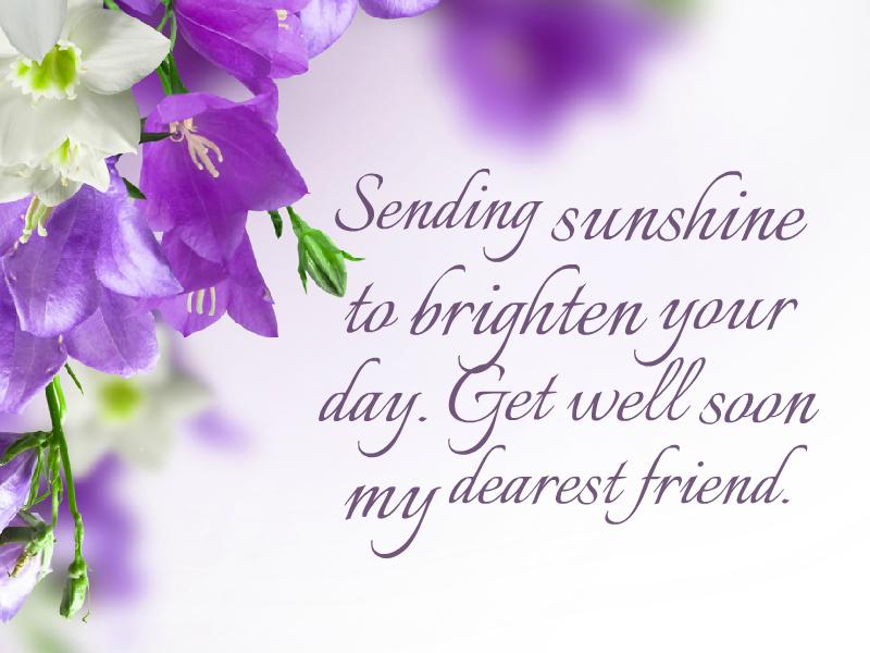 sending sunshine to brighten