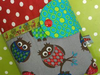 Anleitung Windeltasche für 2 Windeln, Feuttücher und Creme. Tutorial Diaperbag DIY