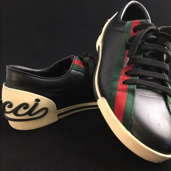 Worn about 8 times. GUCCI is timeless. Price is pretty firm Gucci Shoes  Sneakers