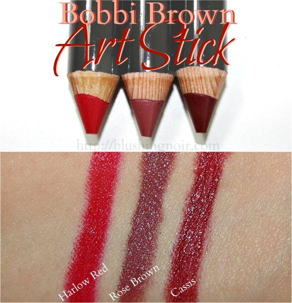 bobbi brown art stick swatches p o w e r p r i m p e r s