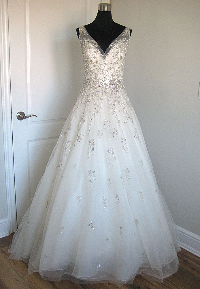 Sottero & Midgley Abrianna, $999 Size: 10 | Sample Wedding Dresses ...