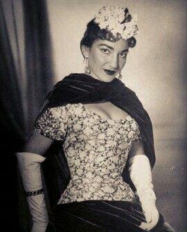 Maria Callas. Anos 50