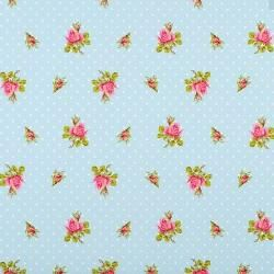 PIP Studio wallpaper roses and blue points