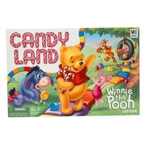 Pooh Candyland Great Gift For Children And A Great Game To Start