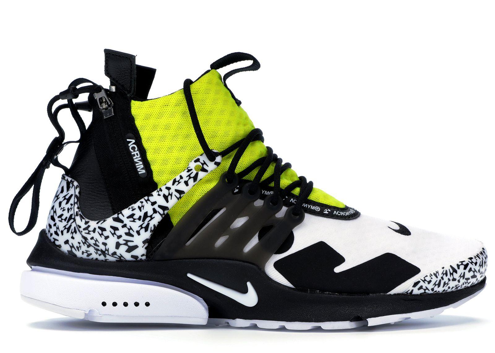 Pre-Owned Nike Air Presto Mid Acronym
