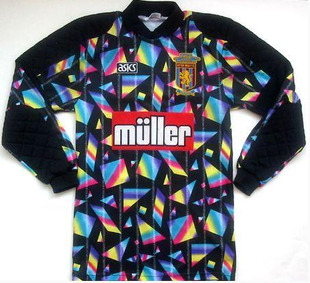 Wow A Vintage Aston Villa Keeper S Jersey My Eyes Retro Football Shirts Vintage Football Shirts Football Shirts