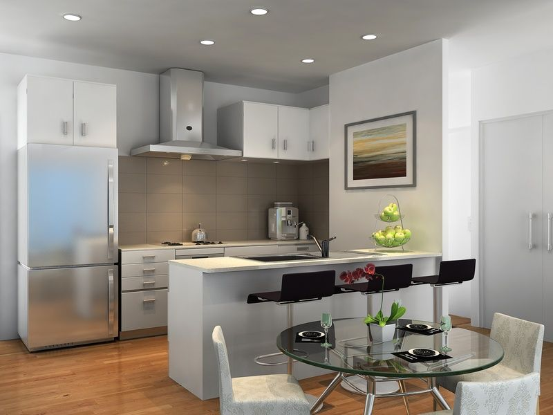 3d Kitchen Render For A Development Project Cloverdale Wa With