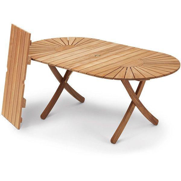 Skagerak Selandia Table ($2,635) ❤ liked on Polyvore featuring home ...