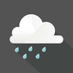 フラットデザインのアイコン 雨のアイコン素材 アイコン素材 フラットデザイン フラットアイコン
