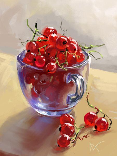 44-Tableaux art digital div 3 (A.L Z ) | Fruits aquarelle, Peinture à l'huile, Nature morte ...