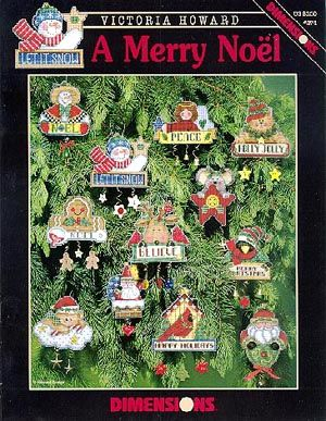Dimensions A Merry Noel - Cross Stitch Pattern - 123Stitch.com