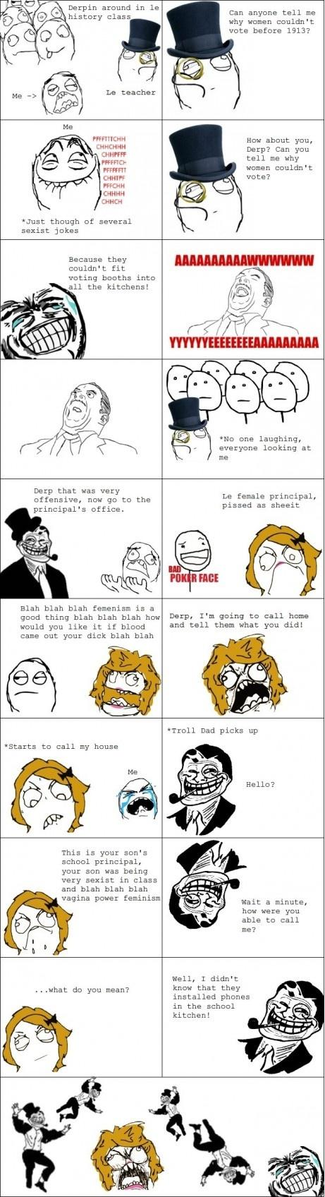 Rage Comics: Rage Comic #9773