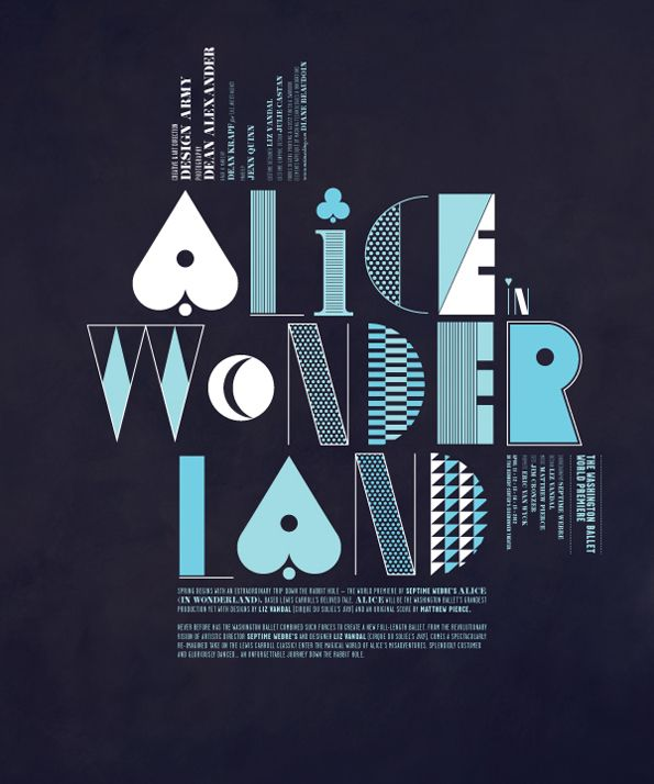 Graphic Design Inspiration: Fashion Shoots: Alice In Wonderland