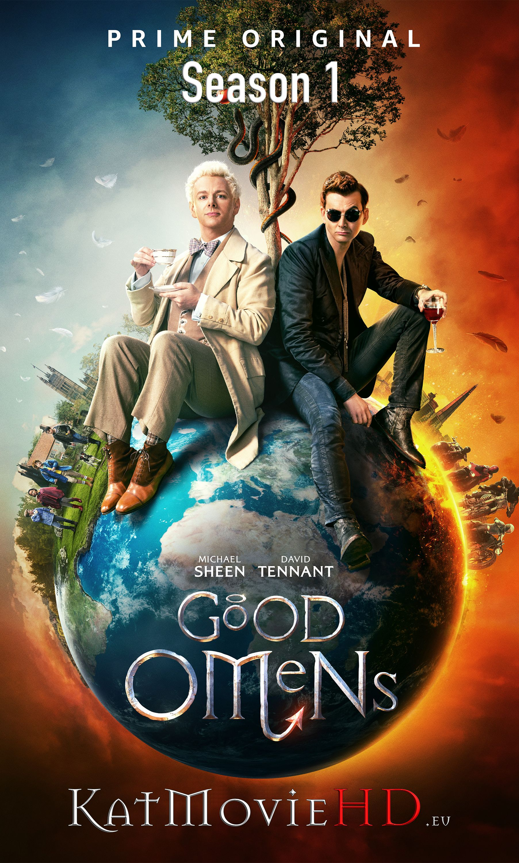 Good Omens S01 Season 1 Complete 480p 720p 1080p HDRip All