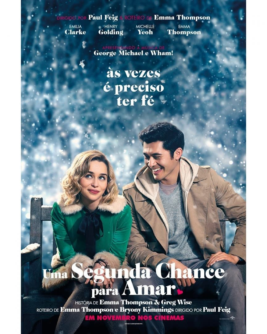 Poster Nacional De Last Christmas Que Virou Uma Segunda Chance