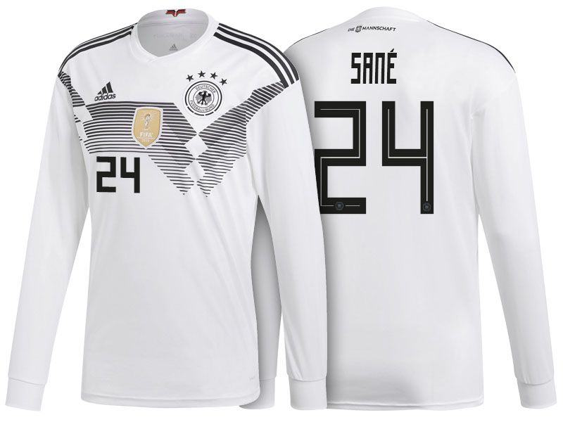 huge selection of dd064 39821 Germany Shirt 2018 World Cup LS leroy sane Home Soccer ...
