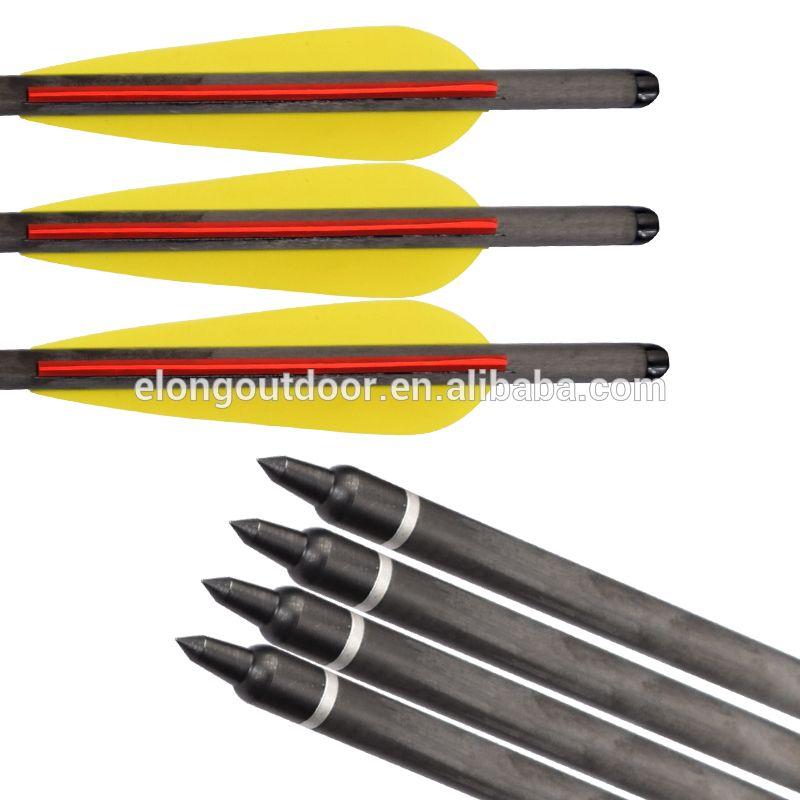 3-30PCS Archery Arrow hunter Nocks Arrows Fiberglass Target Practice Arrow