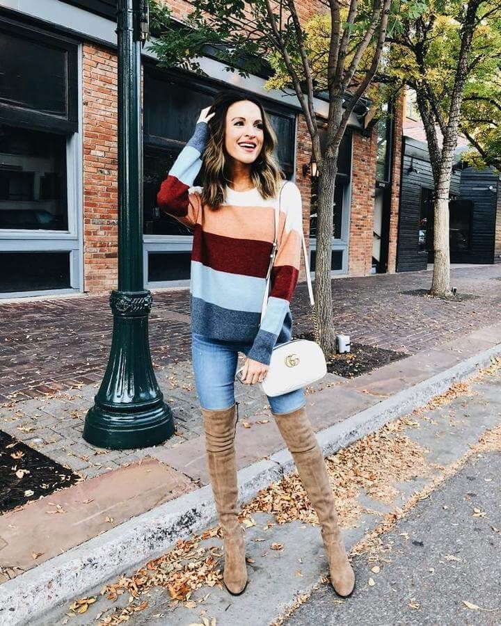 How to Wear Thigh High Boots Without Looking Trashy | My