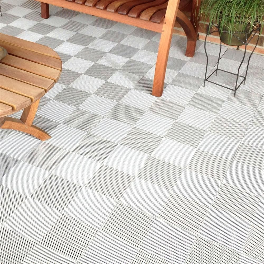 Blocktile Interlocking Deck Tiles Multi Purpose Perforated