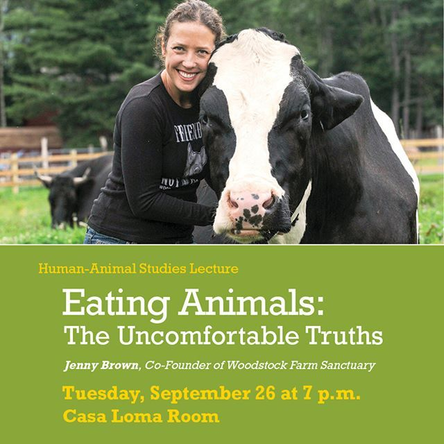 Jenny Brown Animal Rights Activist And Co Founder Of Woodstock Farm Sanctuary Will Deliver A Lecture University Of Redlands Redlands Animal Rights Activist