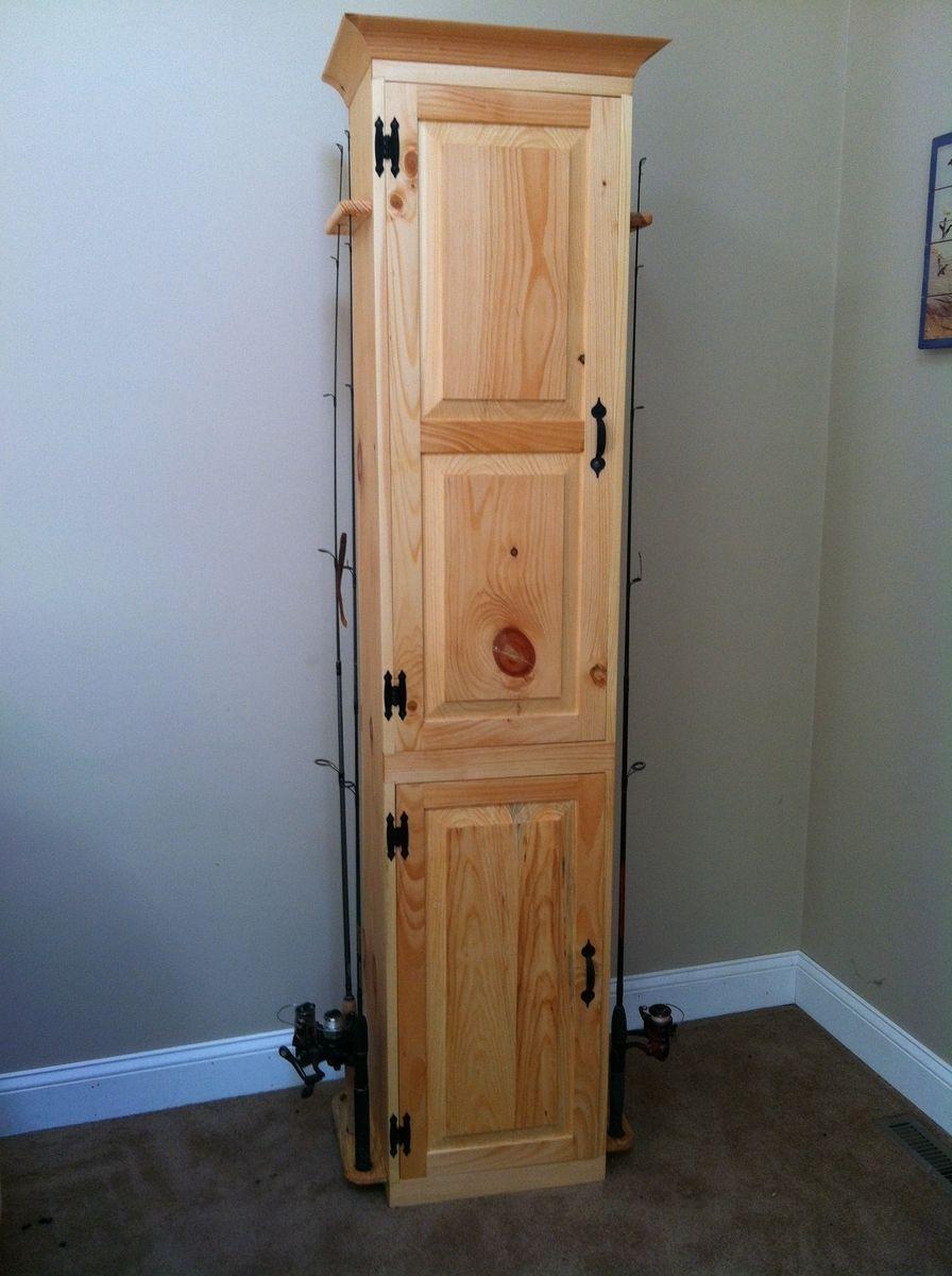 Custom Fishing Pole Storage