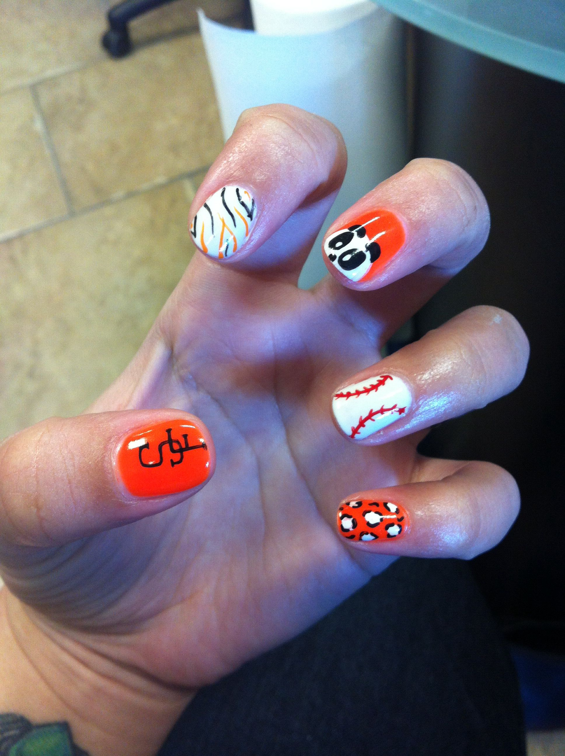 SF Giants nails!!!