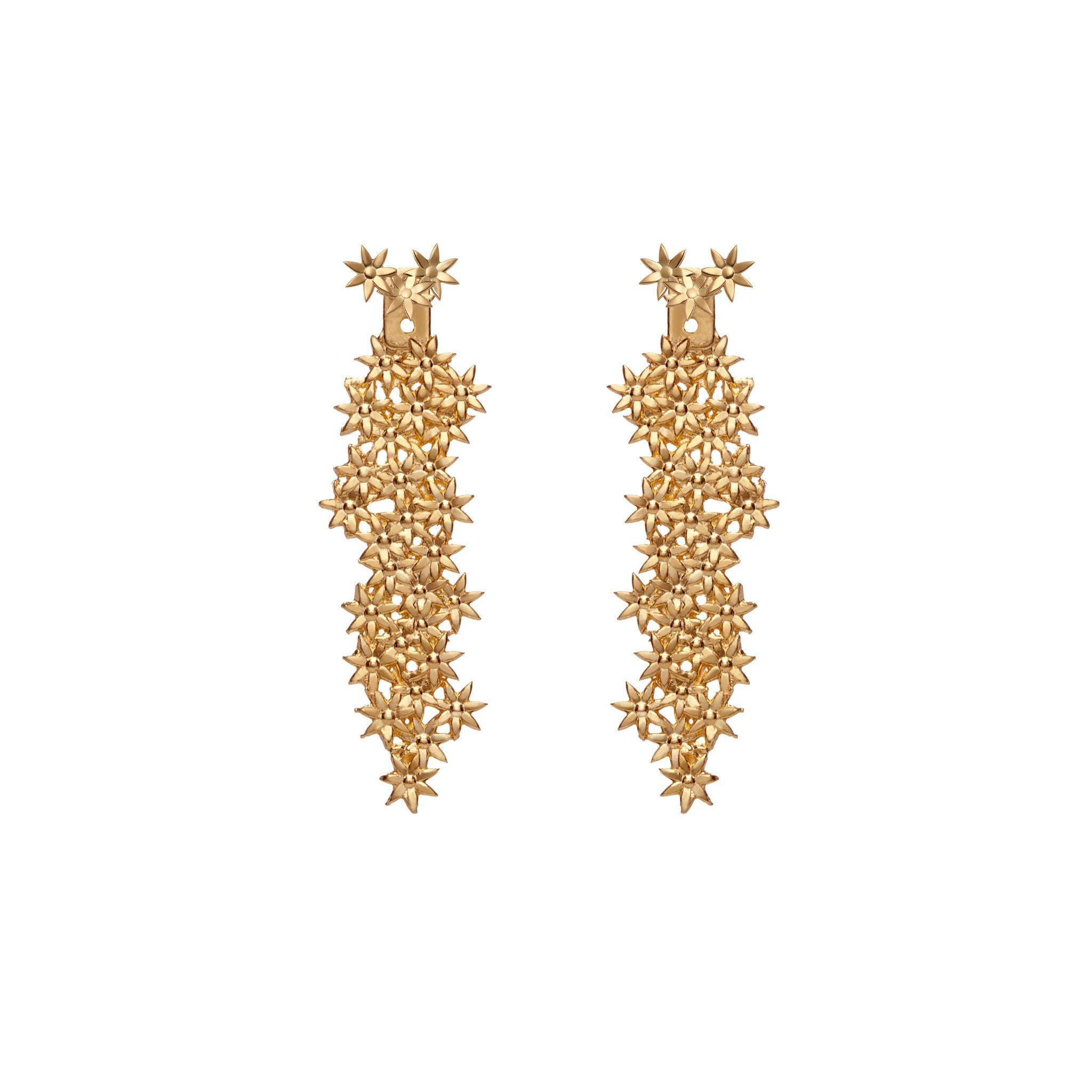 drop earrings renta la flower oscar gold by operandi loading moda de large bold