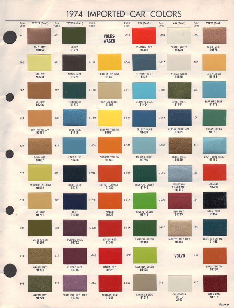 medium resolution of 68 vw transporter original colors google haku