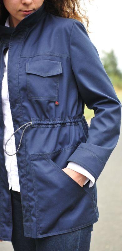 Schnittmuster für eine Jacke - kostenlos | Sewing - jackets, coats ...
