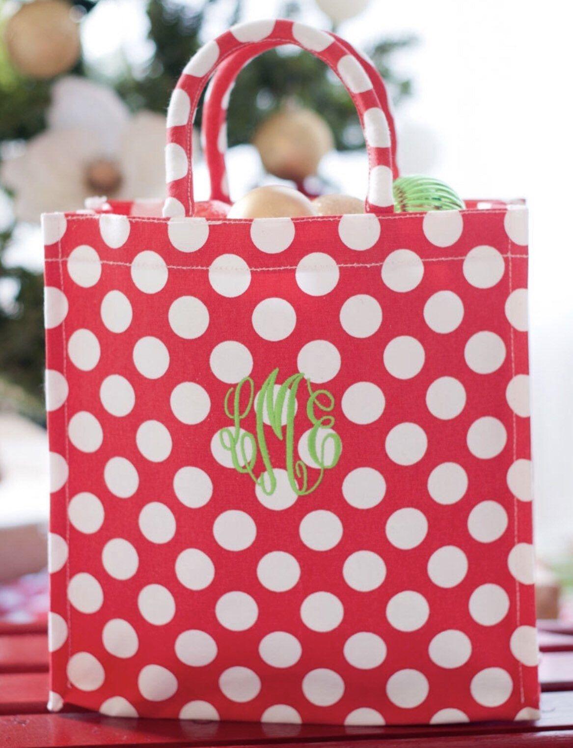 Red Polka Dot Favor Bag  Red Favor Bag  Red Treat Bag  12 bags  7 x 4.75