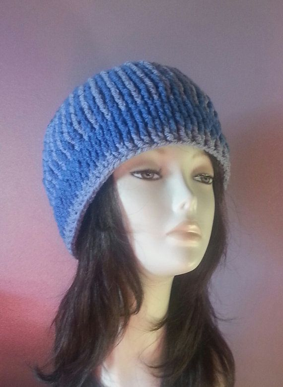 Chunky Crocheted Beanie Hat   Chunky Hat   Crochet ♡ by jazzicrafts