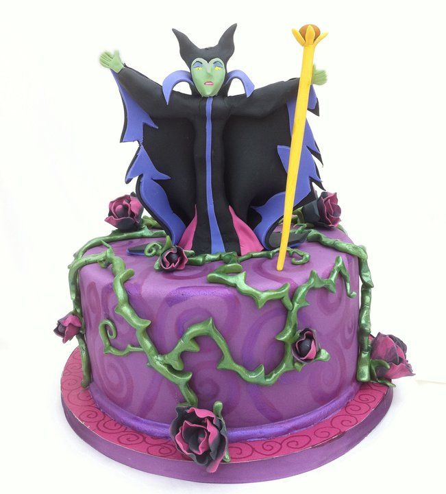 Pin Disney Villain Castle Cake Birthday Cakes Cake on Pinterest