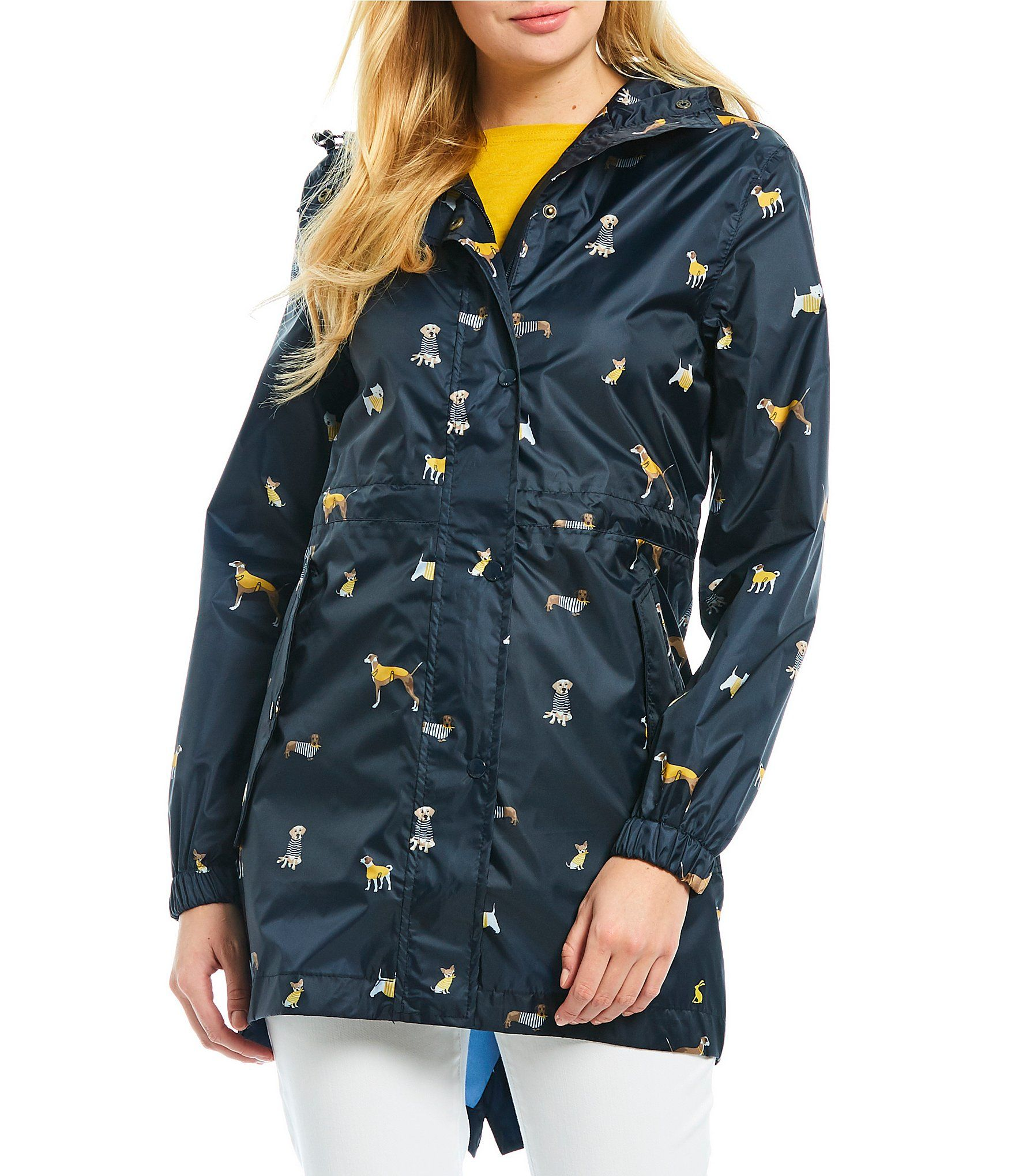 Shop For Joules Golightly Dog Print Button Front Rain Jacket At Dillards Com Visit Dillards Com To Find Clothing Access Print Buttons Jackets Waterproof Coat [ 2040 x 1760 Pixel ]