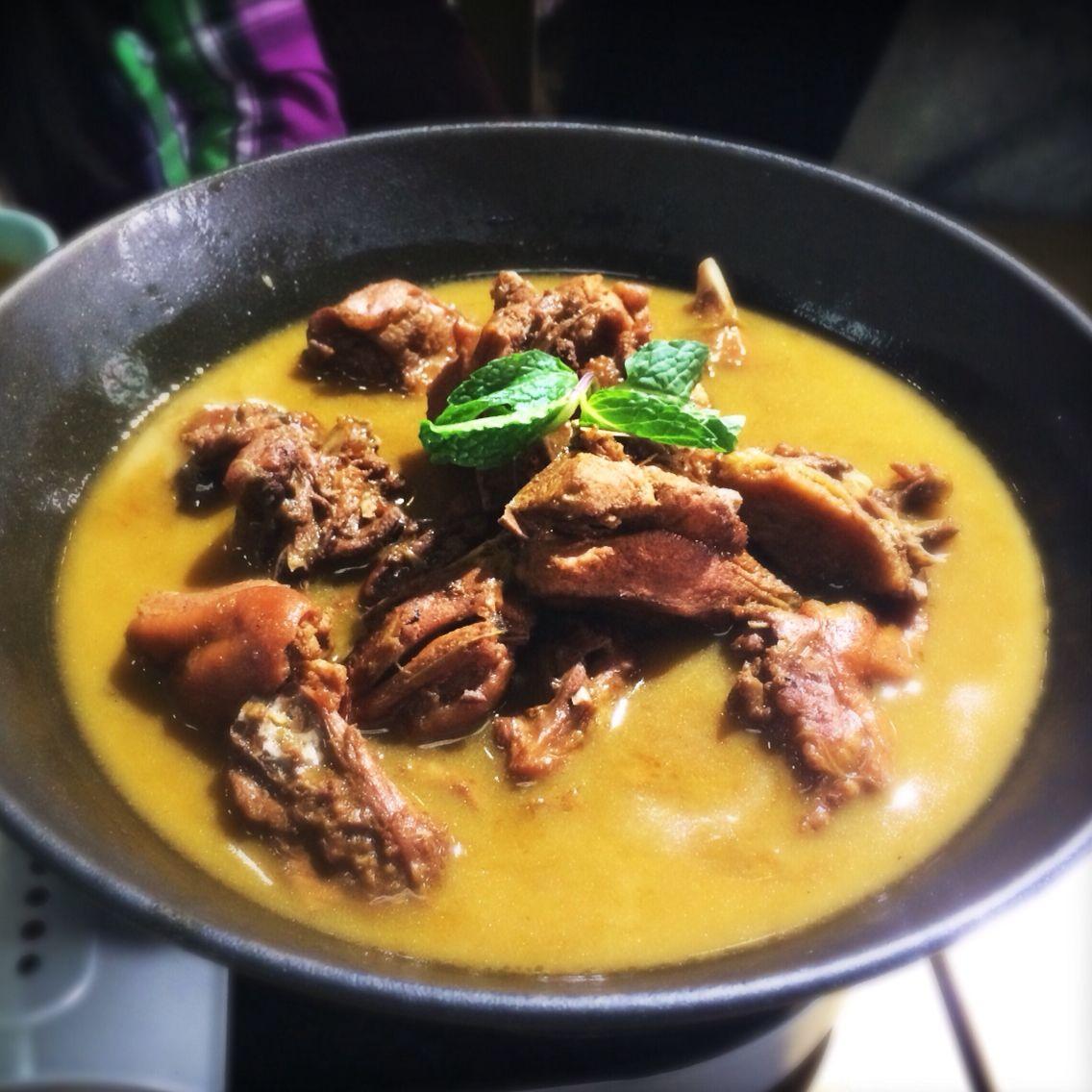 Beijing chicken stew