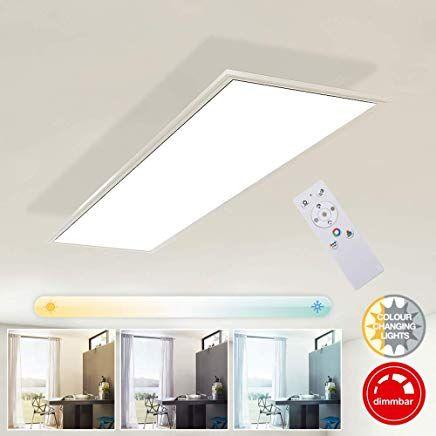 Briloner Leuchten Deckenlampe Led Panel Dimmbar Farbtemperatursteuerung Inkl Fernbedienung 23w 2 200 Lumen Weiaÿ Kunststoff 23 W 1000x25 Home Decor Decor Home