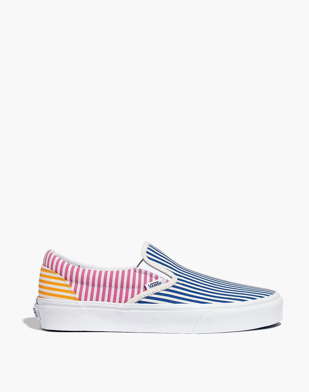 63b099a351c Vans® Unisex Classic Slip-On Sneakers in Mix Stripes in 2019