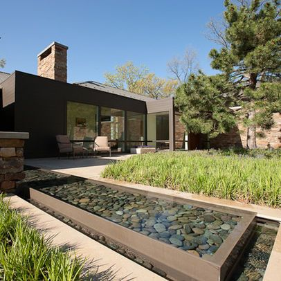 Linear Water Features Water Features In The Garden Outdoor Water Features Garden Pond Design