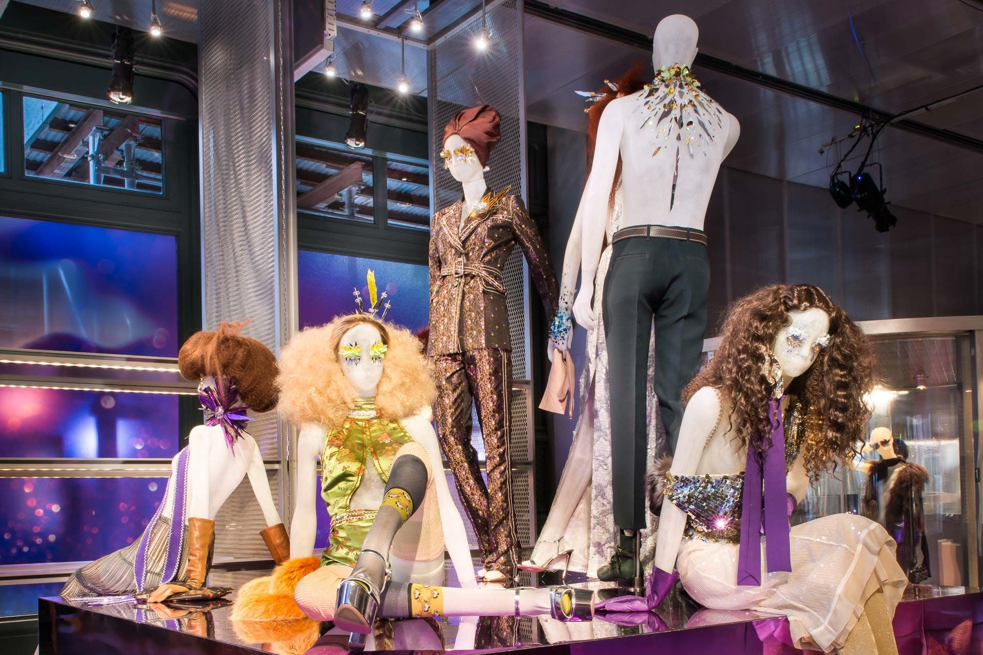 Window display ideas  prada  the iconoclasts  display ideas  pinterest  visual