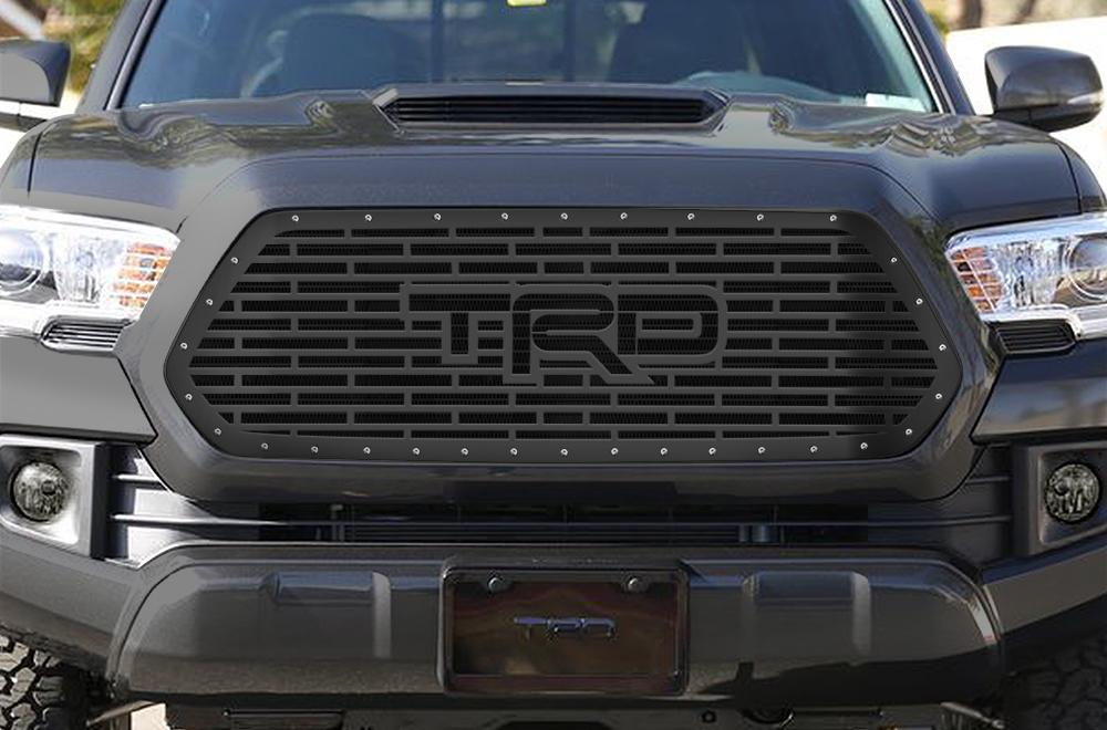 1 Piece Steel Grille For Toyota Tacoma 2016 2018 Trd