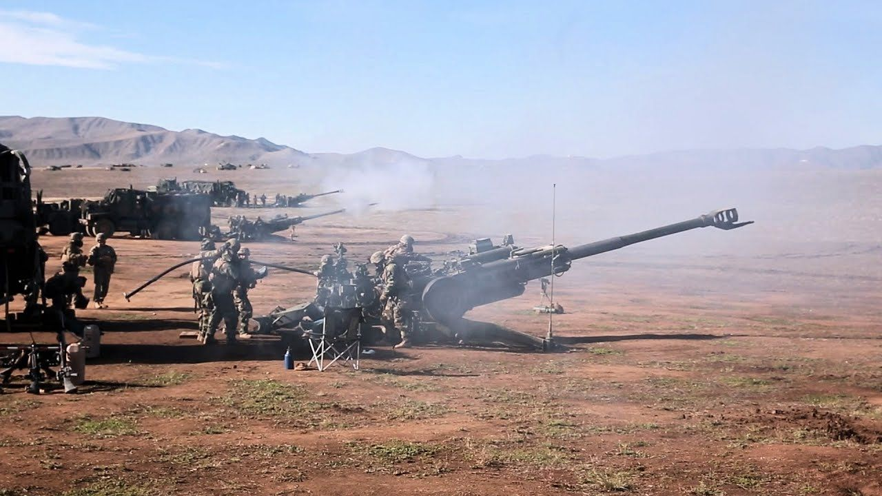 Steel Knight 2019 Artillery Live Fire Marine Corps Bases Marines Camp Pendleton