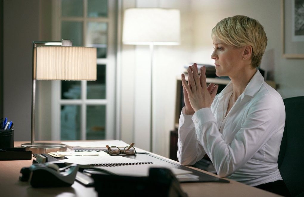 Every Shot On House Of Cards Looks The Same Claire Underwood Claire Underwood Style House Of Cards