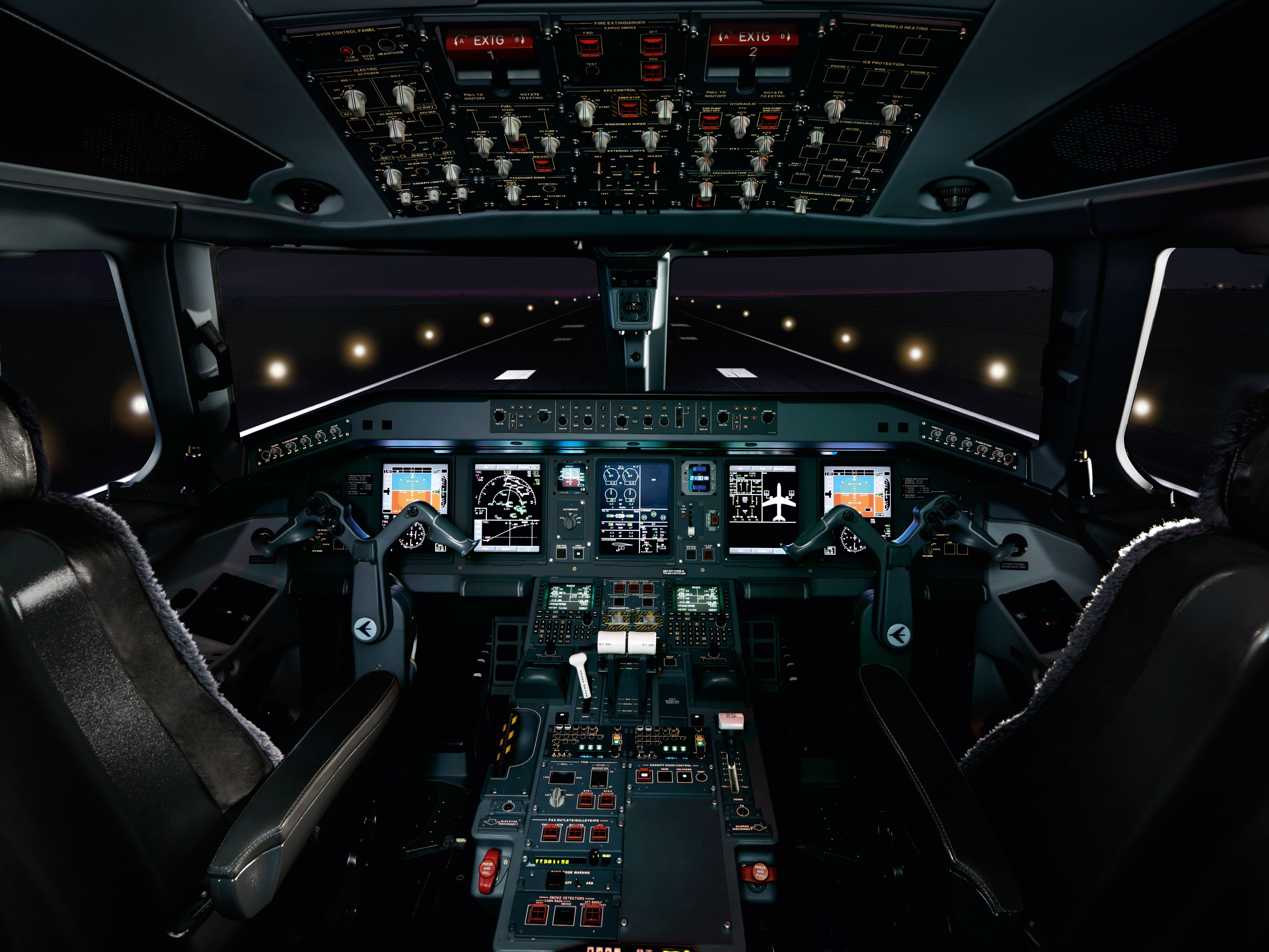 Private jet interior furnished like a vintage train aviation - This Is What The Inside Of A 53 Million Jet Looks Like