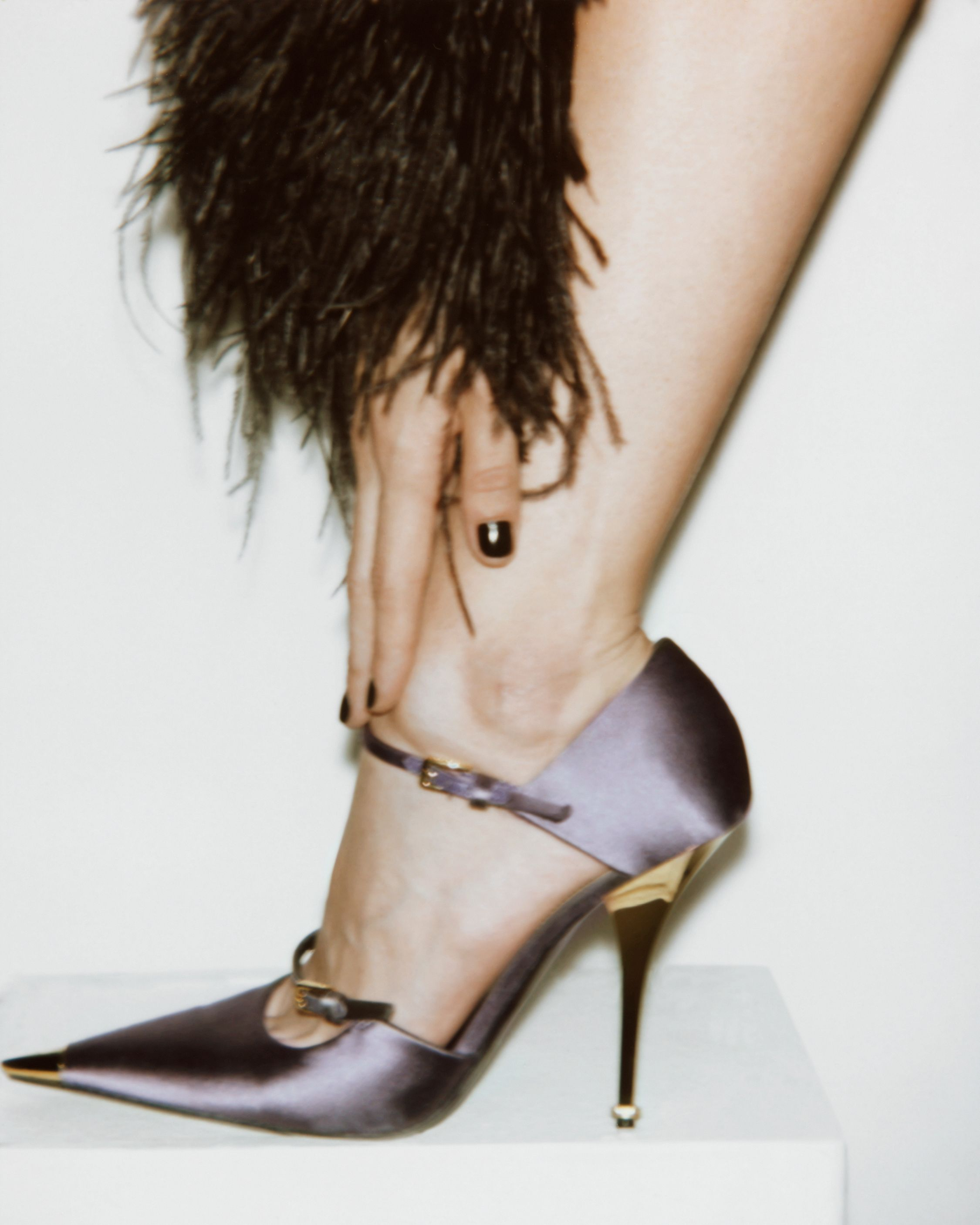 9ad4357cee3 Satin mary jane pump in 2019 | TOM FORD SS19 WOMENSWEAR | Mary jane ...